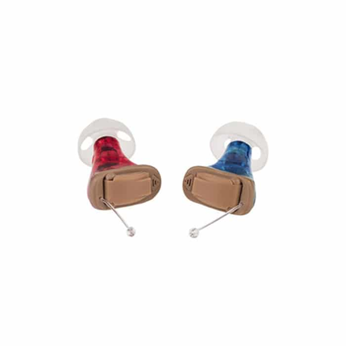 Audio Service quiX instant fit invisible hearing aids