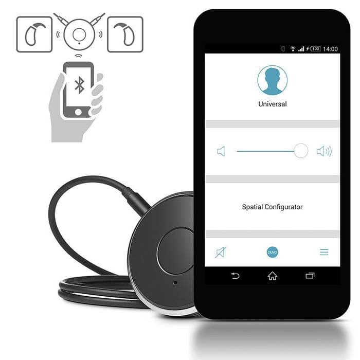 hearing aid accessories - easyTek with easyApp